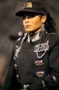 Janet Jackson Rhythm Nation outfit