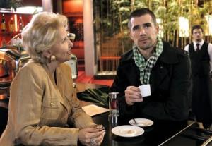 Charlie Schneider and her nephew Olli
